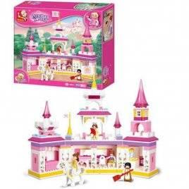 Конструктор для девочек Замок принцессы Розовая мечта М38-В0251 Sluban