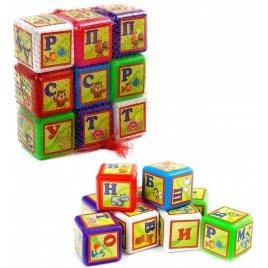 Кубики пластмассовые Абетка малые 028/1 Bamsic