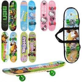Скейт детский большой Мультики