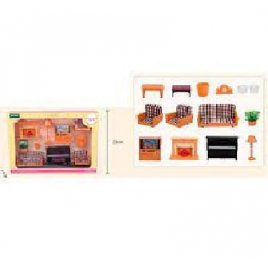 Набор мебели для кукол Гостинная T02