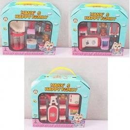 Мебель для кукол мини с фигурками мишек HY-033-4-5AE