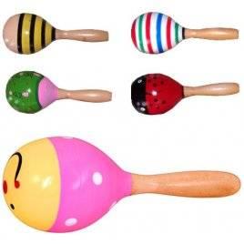 Маракас деревянная игрушка малый 0361