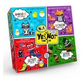 Карткочная игра YENOT ДаНетки 4 в1  МН-14-13 Danko Toys