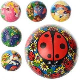 Мяч детский Букашки и мультяшки MS 0370
