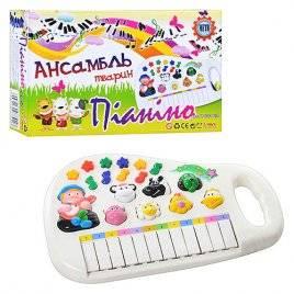 Пианино игрушечное Ансамбль животных 951/0381