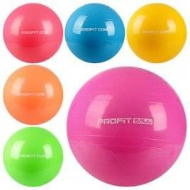 Мяч для фитнеса 65см Фитбол MS 0382
