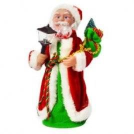 Дед Мороз игрушка с фонариком JY040