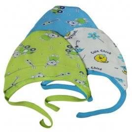 Чепчик для новорожденного Мишки 040028311000 голубой