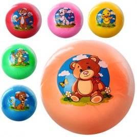 Мяч детский 9 дюймов Милые зверята  0474