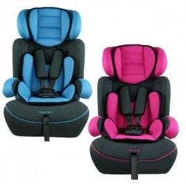Автокресло детское Bambi М 0485 розовое и голубое