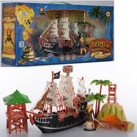 """Набор пиратов средний """"Пираты Черного моря"""" 0513"""