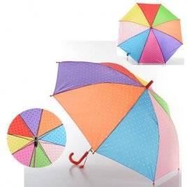 Зонт для девочки в горошек МК 0517