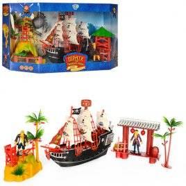"Набор пиратов детский ""Пиратский кораблик с Пиратами"" М 0519"