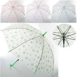 Зонт детский прозрачный 54 см 0523