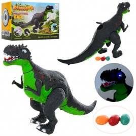 Динозавр несет яйца со звуковыми и  световыми эффектами BN053