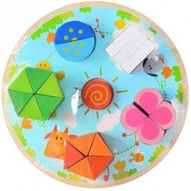 Геометрика деревянная игрушка MD 0538