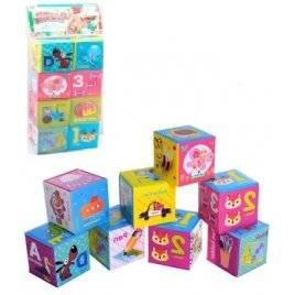 Кубики для купания водостойкие 8 штук B057-8