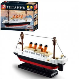 Конструктор Титаник 194 детали 0576 Sluban