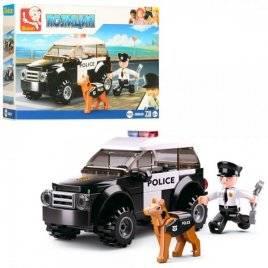 Конструктор полиция машина+2 фигурки 78 деталей M38-B0639 SLUBAN