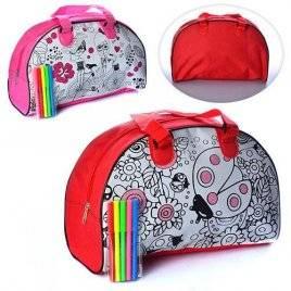 Раскраска сумка с фломастерами MK 0644-1