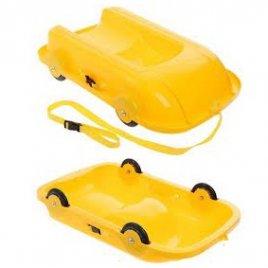 Ледянка Санки универсальные 2 в 1 06550-3 DOLONI-TOYS желтые