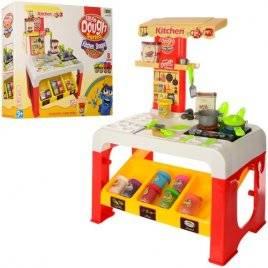 Кухня детская музыкальная для пластилина со светом МК 0677