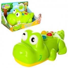 Животное Крокодил с музыкой и светом ездит  0696-NL WinFun