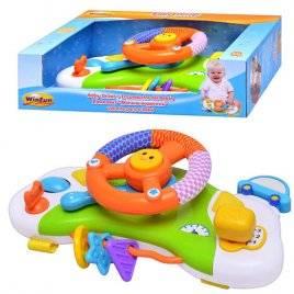 Автотренажер для ребенка с погремушкой 0704 Winfun