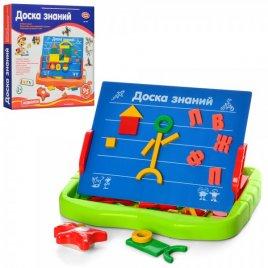 """Доска знаний магнитная """"Буквы и геометрические фигуры"""" 0709 Joy Toy"""