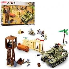 Конструктор Военная база 790 деталей M38-B0713 SLUBAN