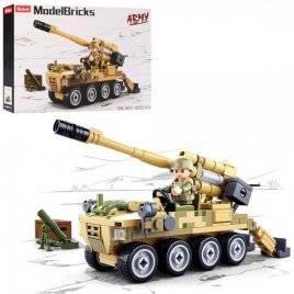 Конструктор военная техника+фигурка 159 деталей M38-B0751 SLUBAN