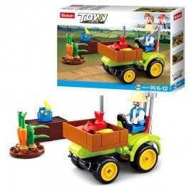 Конструктор трактор 80 деталей M38-B0776 SLUBAN