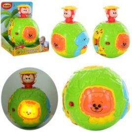 Игрушка для малышей Шар с сюрпризом-обезьянкой 0778 WinFun
