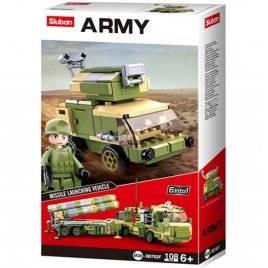 Конструктор Военная техника+ фигурка 108 деталей M38-B0782F SLUBAN