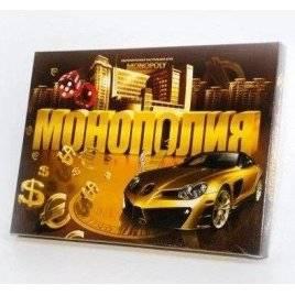 Настольная экономическая игра Монополия малая SP G 08 Данко Тойс