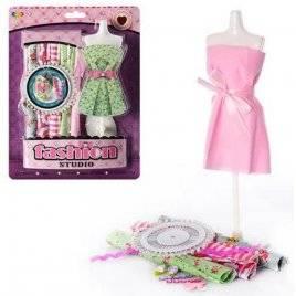 Набор для творчества создай наряд для куклы 0803