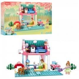 Конструктор для девочек загородный дом 244 детали  M38-B0821 SLUBAN
