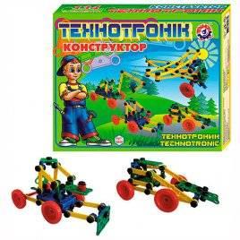 "Конструктор развивающий пластиковый ""Технотроник"" 0830 Технок, Украина"