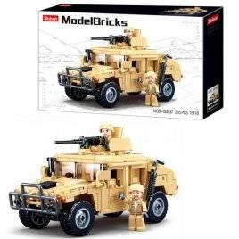 Конструктор военная машина 265 деталей M38-B0837 SLUBAN