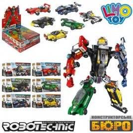 Конструктор Робот/транспорт в дисплее 6в1 KB 085 LimoToy