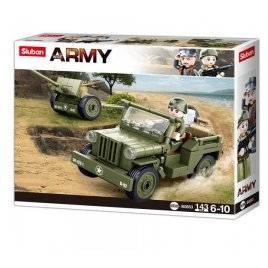 Конструктор боевая техника Army 43 детали M38-B0853 SLUBAN