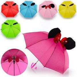 Зонт с ушками в стиле Микки MK 0859