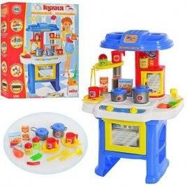 Кухня детская  универсальная музыкальная с продуктами 08912