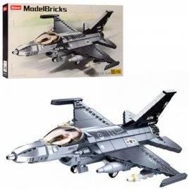 Конструктор военный самолет 521 деталь M38-B0891 SLUBAN