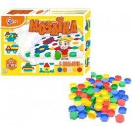 Мозаика для малышей 3 127 элементов 0908 Технок, Украина