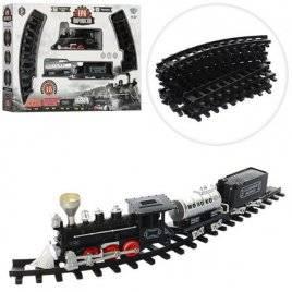Железная  дорога  локомотив со светом и звуком YY-097