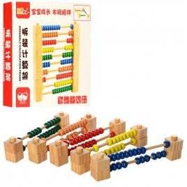 Счеты-конструктор деревянные MD 0974