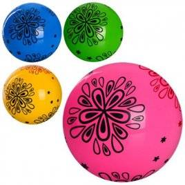 Мяч детский 9 дюймов Цветок ПВХ MS 0977