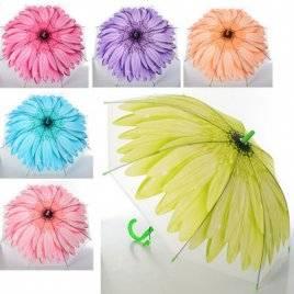 Зонт детский с цветком MK 0993 6 цветов