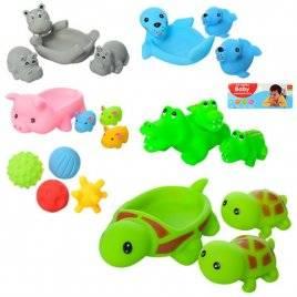 Пищалки животные или мячики B100-2-4-5-6-7-101-6